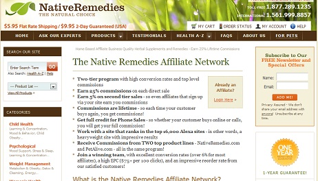 Native Remedies graphic
